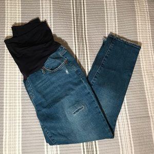 GAP full-panel best girlfriend maternity jeans